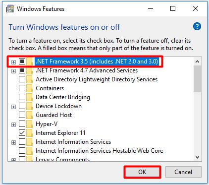 error 0x800f081f no se encuentran los archivos de origen
