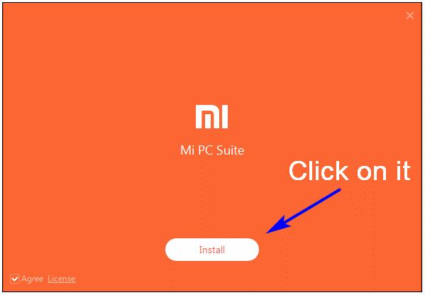 Instalar MI PC Suite para Windows